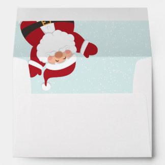 Jolly Santa Envelope Design