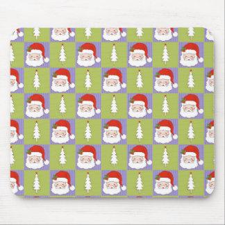 Jolly Santa Mouse Pad