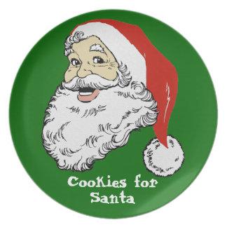 Jolly Santa Plate