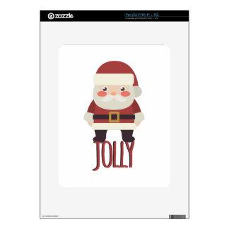 Jolly Santa Skin For iPad