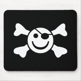Jolly Smiley Mouse Pad