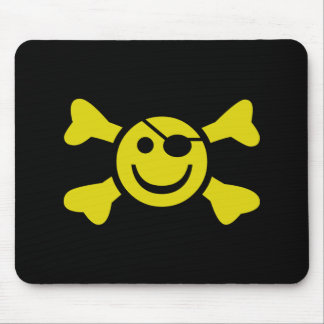 Jolly Smiley Mouse Pads