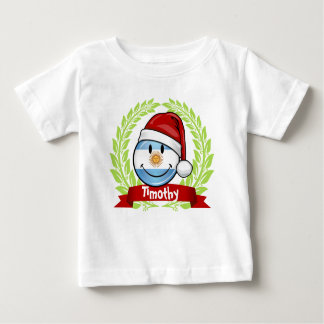 Jolly Smiling Argentina Flag Holiday Infant T-shirt