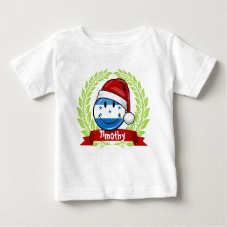 Jolly Smiling Christmas Style Honduran Flag Tee Shirt