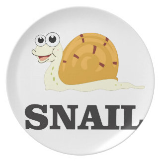 jolly snail plate