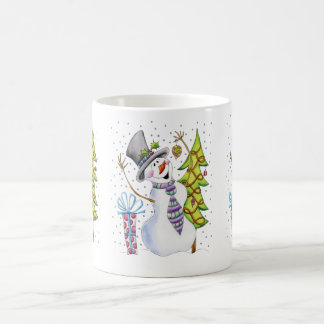 Jolly Snowman Christmas / Winter Mug