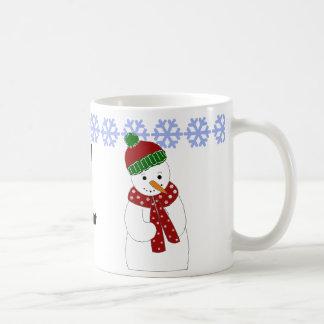 Jolly Snowman Coffee Mug