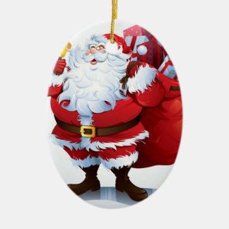 Jolly St. Nick Christmas Ornaments