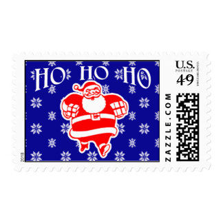 Jolly St Nick Postage Stamps