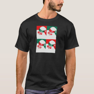 Jolly St Nick - Quad T-Shirt