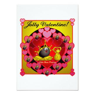 Jolly Valentine 5x7 Paper Invitation Card
