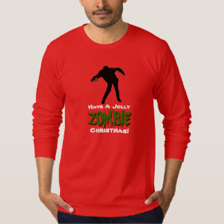 Jolly ZOMBIE Christmas Holiday T-Shirt