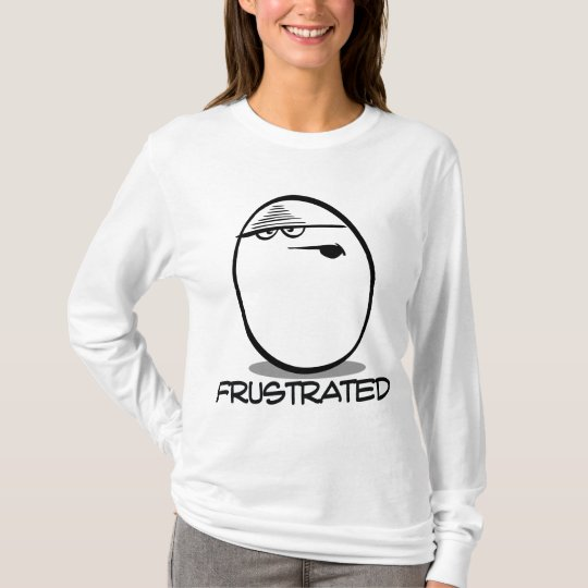 Jollybeans Expressions Collection- Frustrated T-Shirt