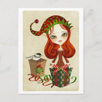 Jollybelle Christmas Greeting Postcard