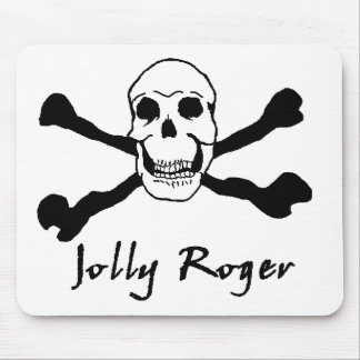 JollyRoger 01 Mouse Pad