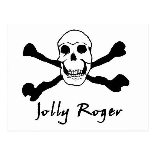 JollyRoger 01 Tarjetas Postales