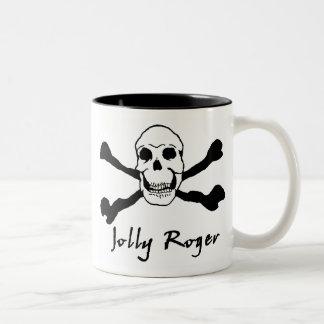 JollyRoger 01 Two-Tone Coffee Mug