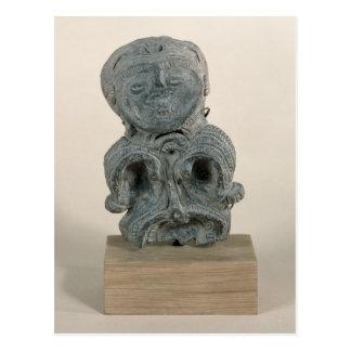 Jomon figurine postcard