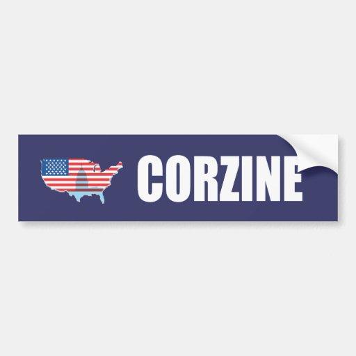 JON CORZINE Election Gear Bumper Sticker