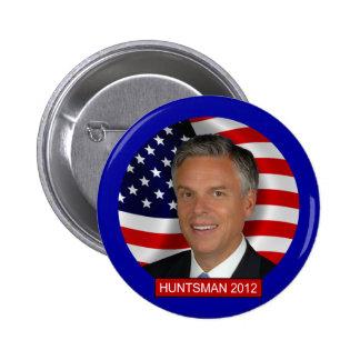Jon Huntsman 2012 2 Inch Round Button