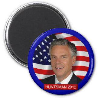 Jon Huntsman 2012 2 Inch Round Magnet