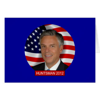 Jon Huntsman 2012 Card