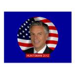 Jon Huntsman 2012 Postcard