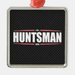 Jon Huntsman 2016 (Stars & Stripes - Black) Ornaments
