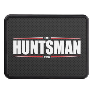 Jon Huntsman 2016 (Stars & Stripes - Black) Tow Hitch Covers