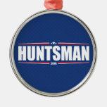 Jon Huntsman 2016 (Stars & Stripes - Blue) Christmas Ornament