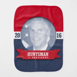 JON HUNTSMAN 2016 BABY BURP CLOTH