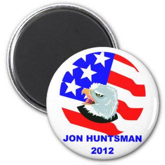 JON HUNTSMAN 2 INCH ROUND MAGNET