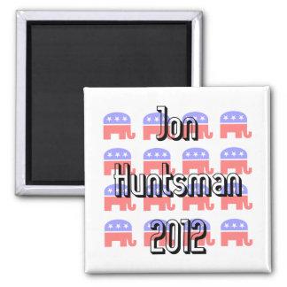 Jon Huntsman 2 Inch Square Magnet