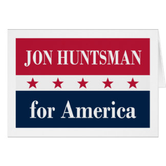Jon Huntsman for America Card