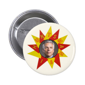 Jon Huntsman in 2016 for President Pinback Button
