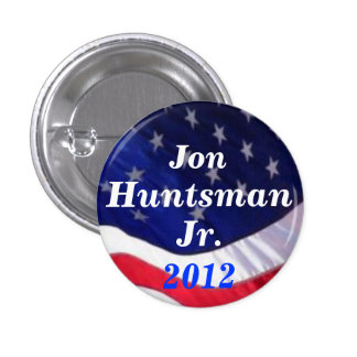 Jon Huntsman Jr 2012 button