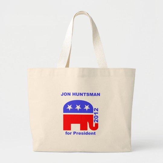Jon Huntsman Large Tote Bag