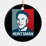 JON HUNTSMAN POSTER CHRISTMAS ORNAMENT