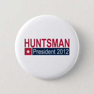 Jon Huntsman President 2012 Button