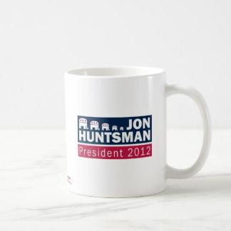 Jon Huntsman President 2012 Republican Elephant Classic White Coffee Mug