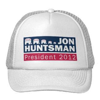Jon Huntsman President 2012 Republican Elephant Trucker Hat