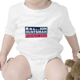 Jon Huntsman President 2012 Republican Elephant Bodysuits