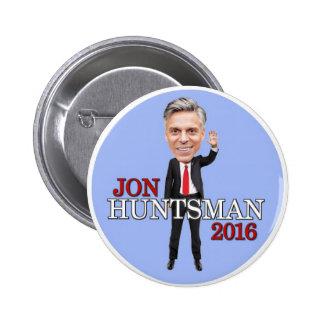 Jon Huntsman President 2016 2 Inch Round Button