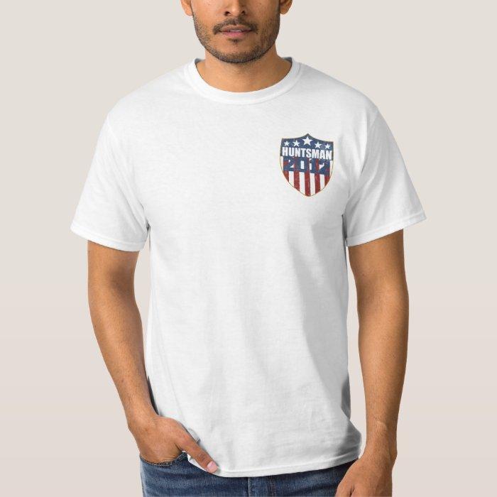 Jon Huntsman President in 2012 (front and back) T-Shirt