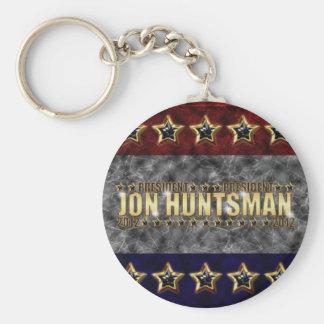 Jon Huntsman Stars and Stripes Keychain
