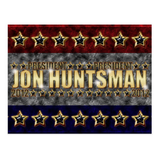 Jon Huntsman Stars and Stripes Postcard