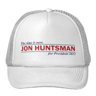 Jon Huntsman The Time is Now President 2012 Trucker Hat