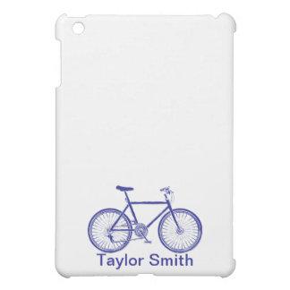 JON iPad Case Blue Bicycle