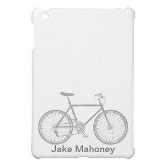 JON iPad Case Grey Bicycle