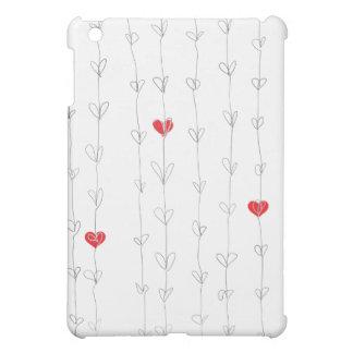 JON iPad Case Red Hearts
